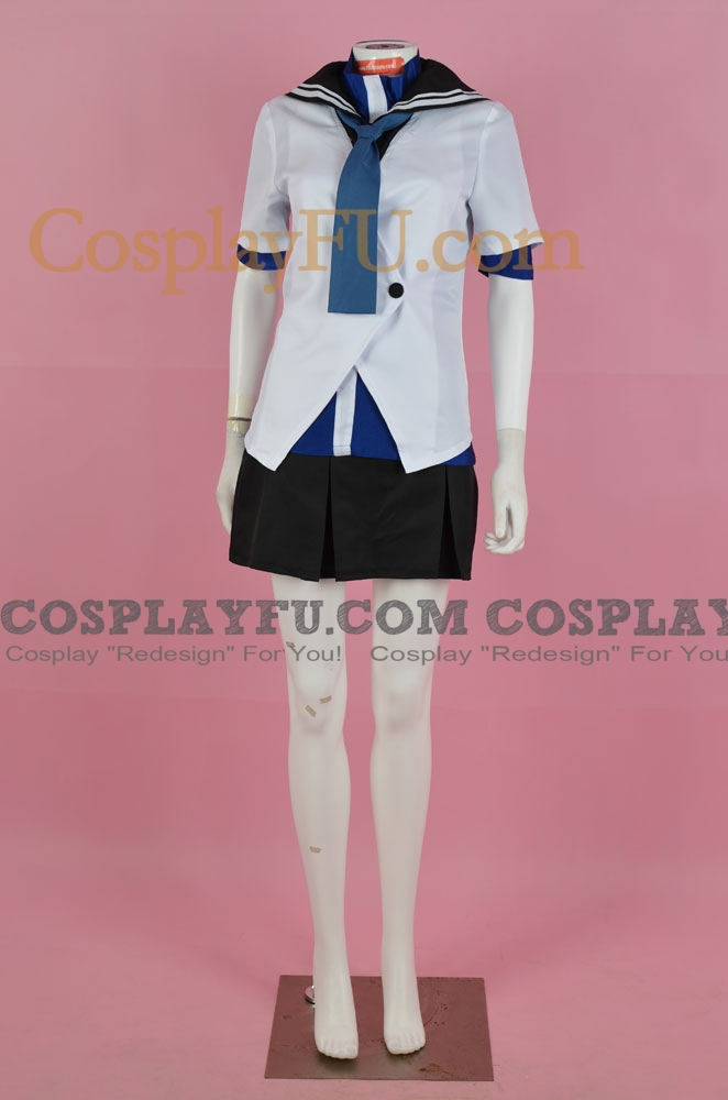 Kämpfer Natsuru Senō Costume (School Uniform)