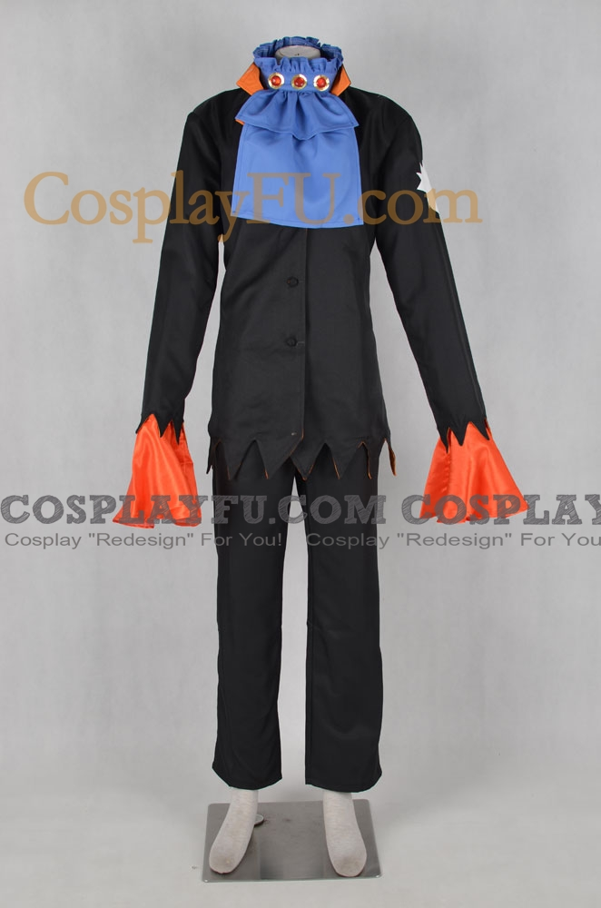 One Piece Brook Costume