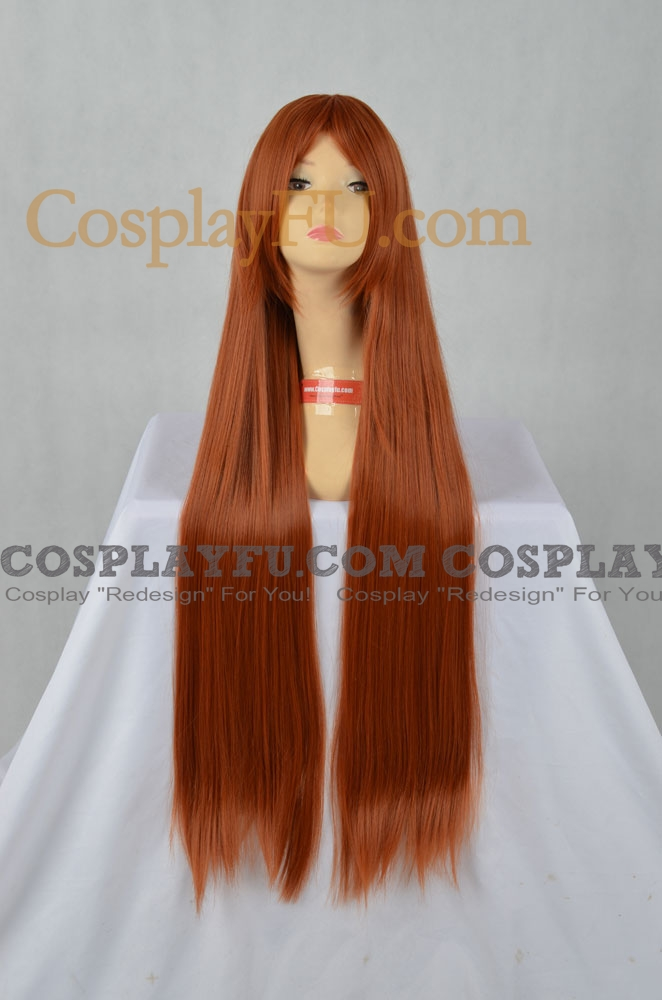 Brown Wig (Wavy,Long,Mikuru)