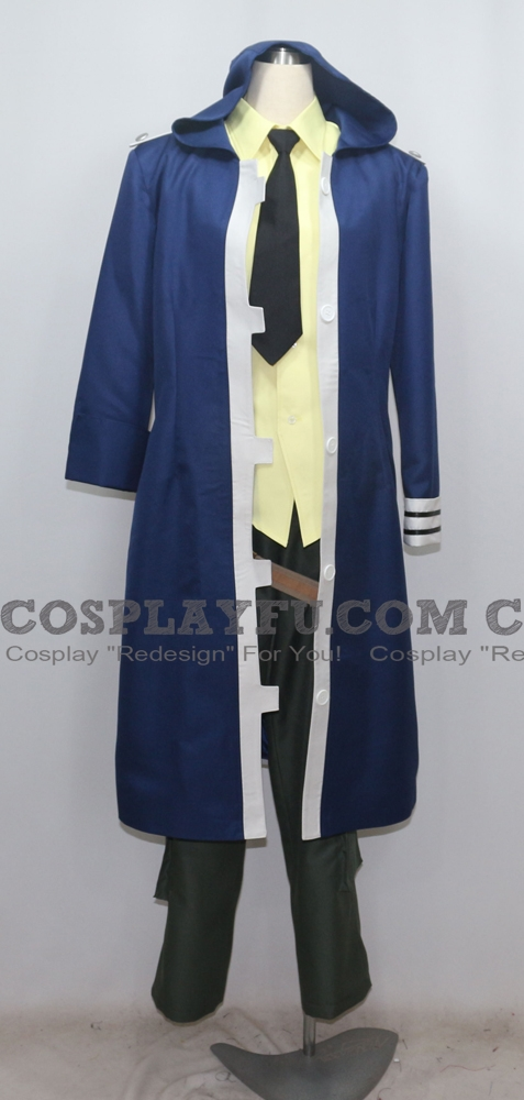 Soma Cosplay Costume (1646) from Gods Eater Burst