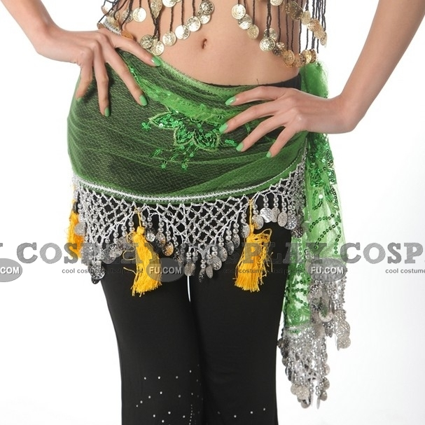 Belly Dance Hip Scarf 05 for Kids Adult and Plussize  CosplayFU  Dance Scarves For Kids
