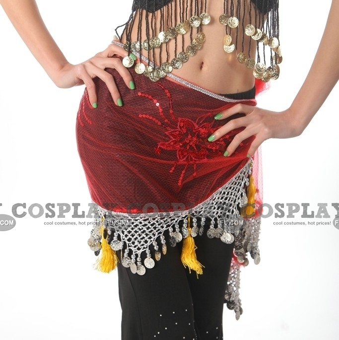 Belly Dance Hip Scarf 05 for kids adult and plussize in Halloween  Dance Scarves For Kids