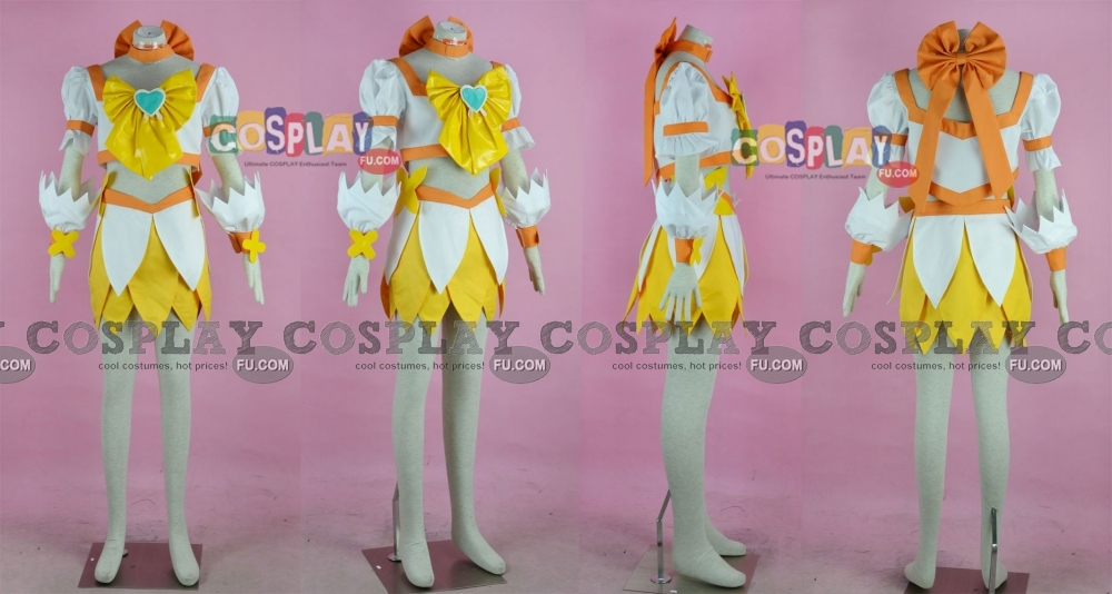 Cure sunshine cosplay from heartcatch precureg fandeluxe