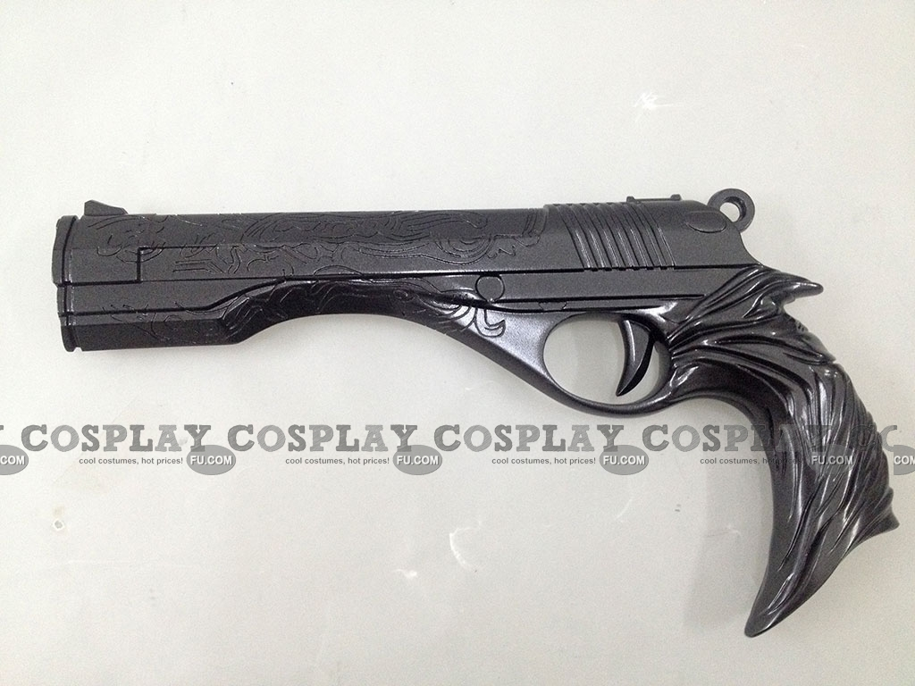 Damian Gladius Valerius Dante-Gun-(Black-DX36)-from-Devil-May-Cry