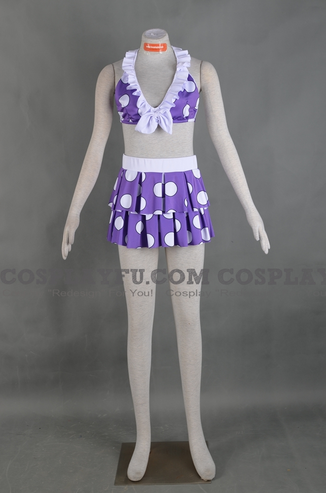 Custom juvia cosplay costume swimsuit from fairy tail - Fairy tail juvia swimsuit ...