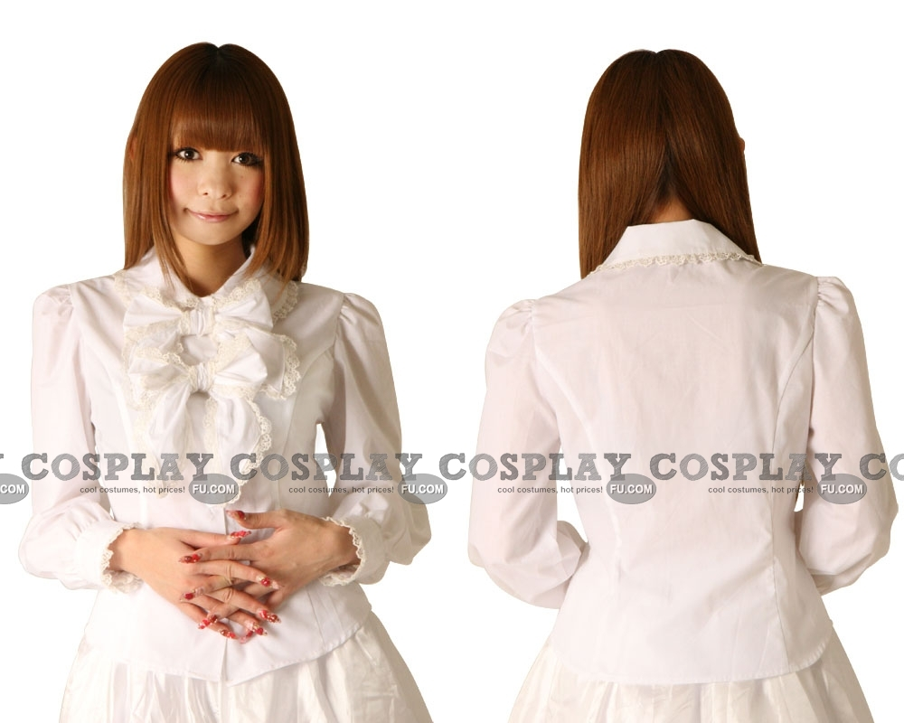 Lolita Clothing Blouse Himeno ... Blonde Mature with 2 Guys