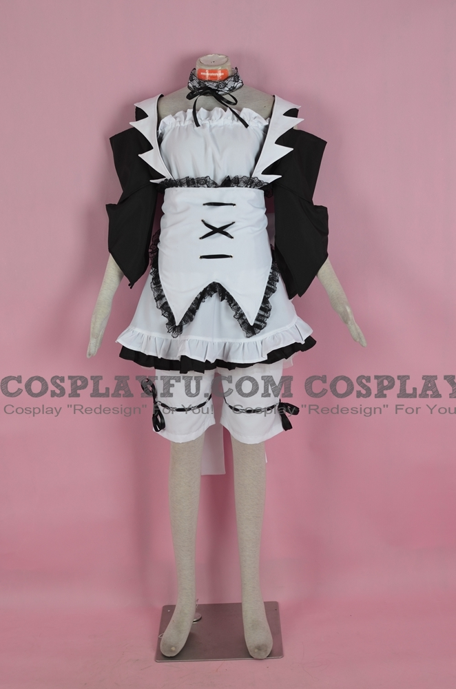 misaki maid cosplay