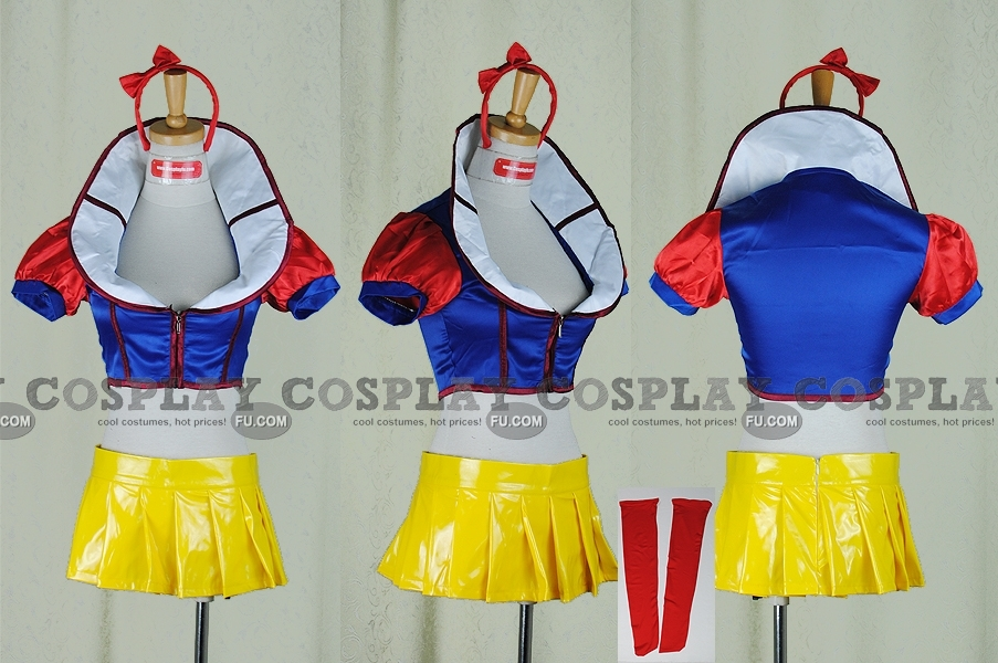 Snow White Costume (Mini Dress) for Kids, Adult and Plus-size - CosplayFU ...