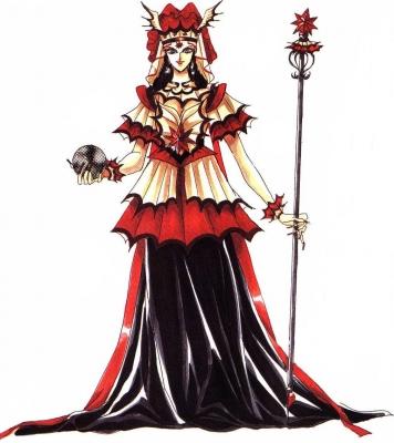 Queen Cosplay Costume from Sailor Moon