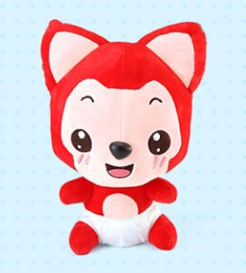 Ali the Fox Plush