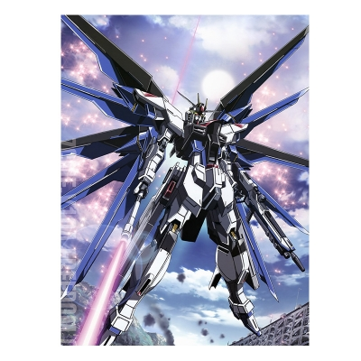 ZGMF-X10A Freedom Bed Sheet (416) from Gundam Seed
