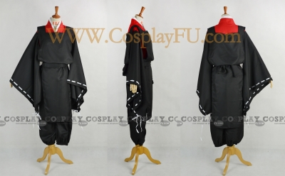 Abe Cosplay (Black) from Shonen Onmyoji