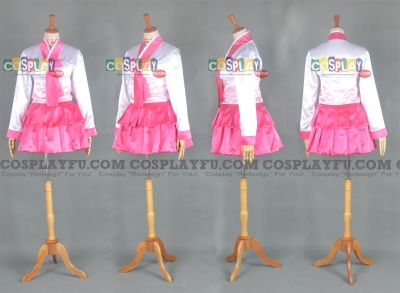 Ahri Cosplay (Hanbok) from League of Legends