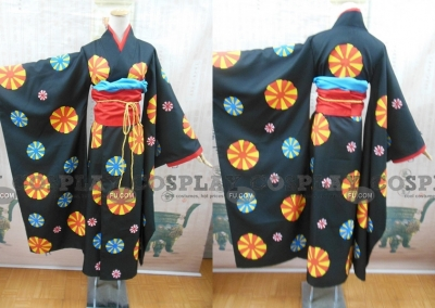 Ai Cosplay (Flower Kimono) from Hell Girl