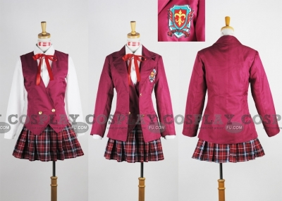 Asuna Cosplay (School Girl Uniform) from Magister Negi Magi