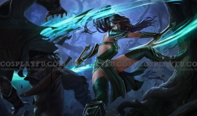Akali Costume from League of Legends