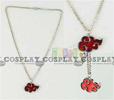 Akatsuki Cloud Necklace from Naruto Shippuuden