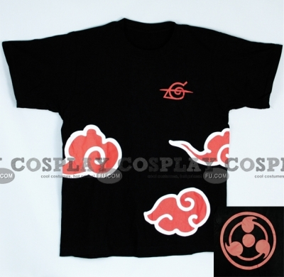 Akatsuki T Shirt (Black 04) from Naruto
