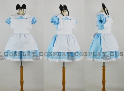 Alice Costume (Kids) from Alice in Wonderland