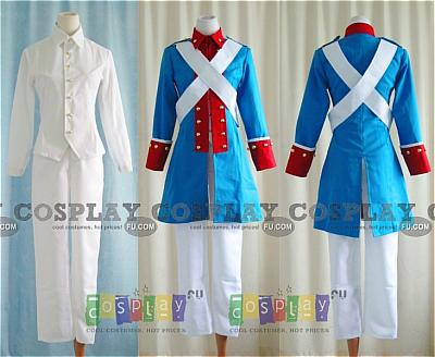 American Independent War Cosplay Uniform from Axis Powers Hetalia