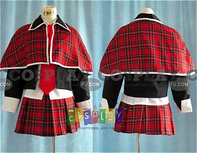 Amu Cosplay (With Cloak) from Shugo Chara