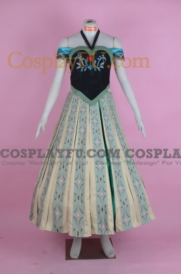 Anna Cosplay (Party Dress) from Frozen