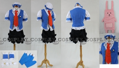 Anzu Cosplay (Blue) from The Idolmaster Cinderella Girls
