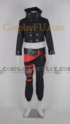 Aoba Cosplay (Black) from Dramatical Murder