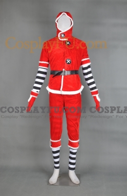 Aoba Cosplay (Christmas) from DRAMAtical Murder