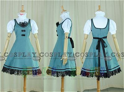 Aoi Cosplay (St Miator Girls Academy Summer Uniform) from Strawberry Panic