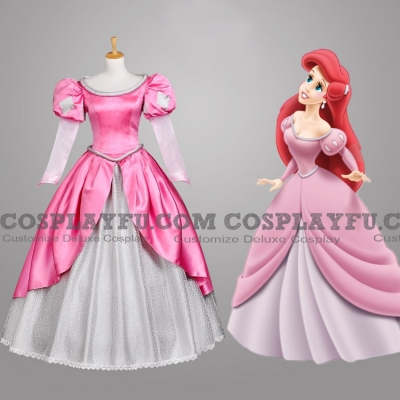 Ariel Costume (Pink) from The Little Mermaid