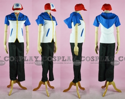 Ash Cosplay (Sport Suit) from Pokemon