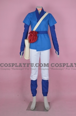 Ashitaka Costume from Princess Mononoke