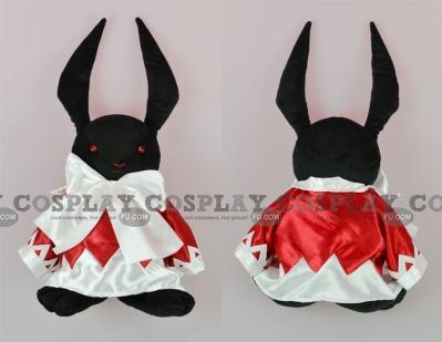 B Rabbit Plush from Pandora Hearts