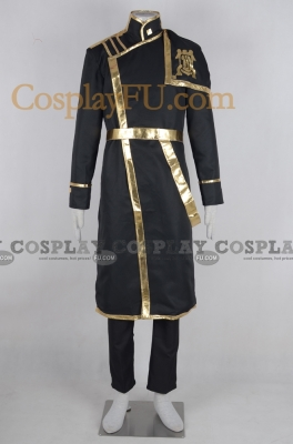 Hyuuga Cosplay (Barsburg Empire Uniform) from 07 Ghost