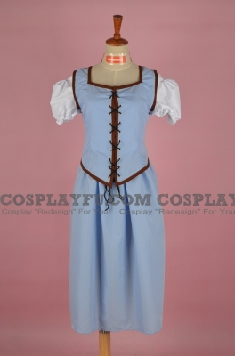 Belle Cosplay (Emilie de Ravin) from Once Upon a Time