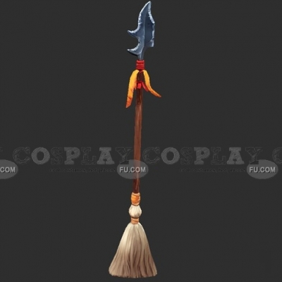 Bewitching Broomstick from League of Legends