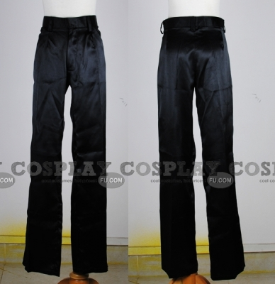 Black Pants (Satin)