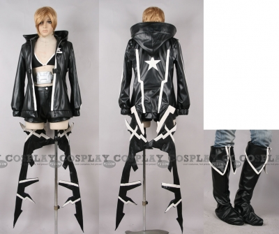 Black Rock Shooter Cosplay (Figma BRS2035) from Black Rock Shooter