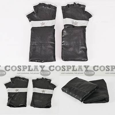 Black Star Gloves from Soul Eater