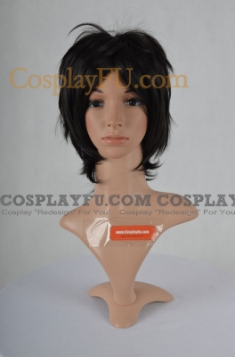 Black Wig (Short,Spike,CF34)