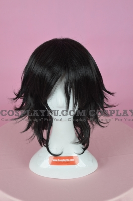 Black Wig (Short,Spike,HS12)