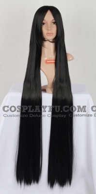 Black Wig (Straight,Long,KiW,120cm CF24)