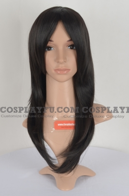 Black Wig (Straight, Medium, Misaki)