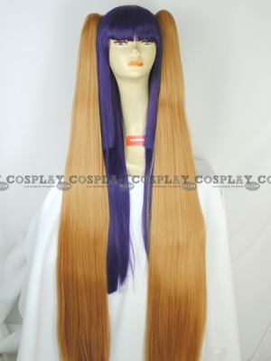 Blonde Clip (Straight,Long,Neru)