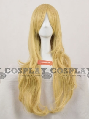 Blonde Wig (Curly, Long, Alice)