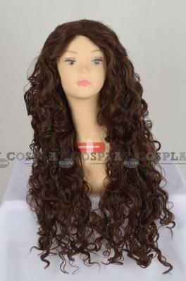 Blonde Wig (Long,Curly,Bellatrix)