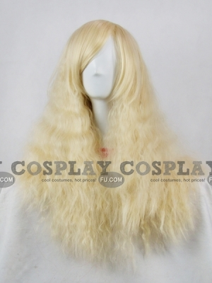 Blonde Wig (Medium,Curly,Lolita)