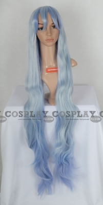 Blue Wig (Curly, Long, Noel CF26)