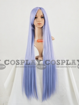 Blue Wig (Long,Straight,Angel,CF08)